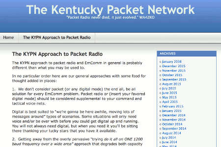 KYPN, the modern approach to packet radio