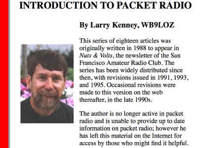 Learn about Packet Radio from here