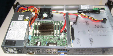 Supermicro server as it comes.