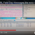 Passing ARRL Field Day messages the easy way with packet radio