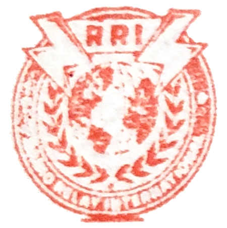 RRI Radiogram Stamp Logo